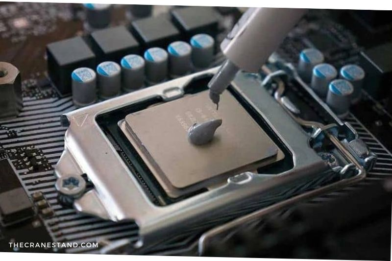 Replace the thermal paste (1)